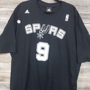 Adidas Tony Parker Spurs Mens Shirt